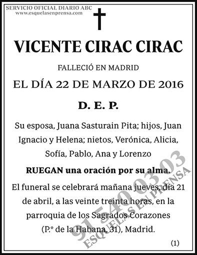 Vicente Cirac Cirac
